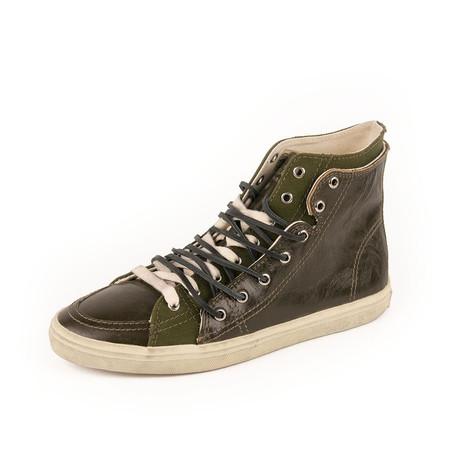 Rivington Double High Top Sneaker // Hunter Green (Euro: 39)