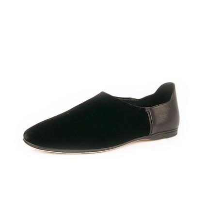 Slim Slipper Loafers // Black (Euro: 39)