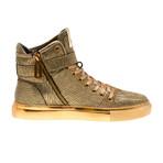 Sullivan 24K Sneaker // Gold Stretch Bark (US: 7)