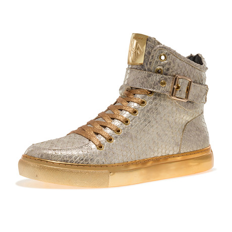 Sullivan24 Shoe // White, Gold, Koi (US: 7)