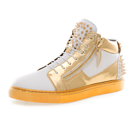Zack Spike Shoe // White (US: 7)