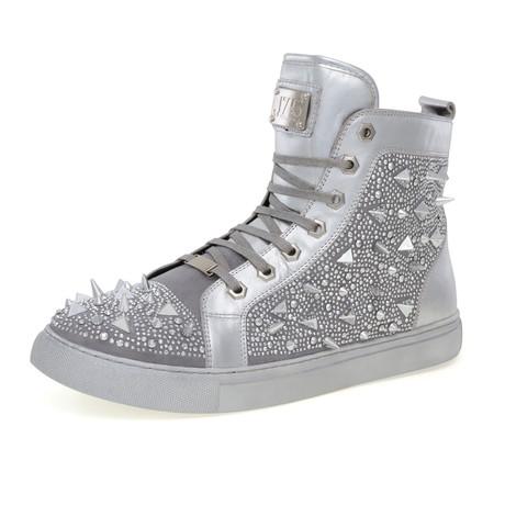 Zambia Shoe // Silver (US: 7)