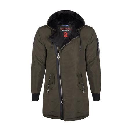 Samson Winter Coat // Khaki (S)