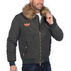 Liam Denim Coat // Khaki (L)