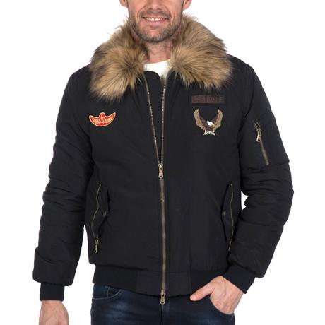 Jayceon Denim Coat // Black (S)