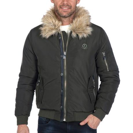 Deacon Winter Coat // KhakiGreen (S)