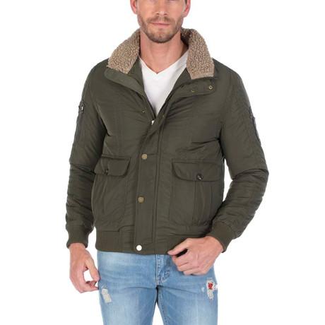 Thiago Winter Coat // Khaki (S)
