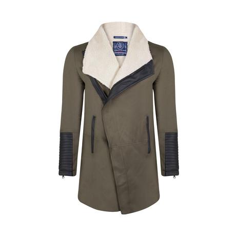 Harlan Winter Coat // Khaki Green (S)