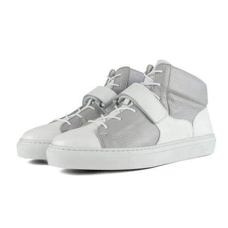 Lennox // White + Gray (US: 7)