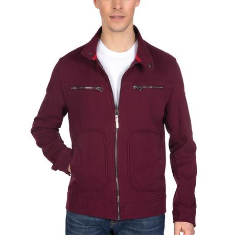 Nico Spring Coat // Bordeaux (S)