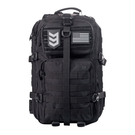 Velox II Quick Action Tactical Backpack (Black)