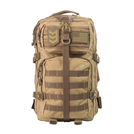 Velox II Quick Action Tactical Backpack (Coyote Tan)