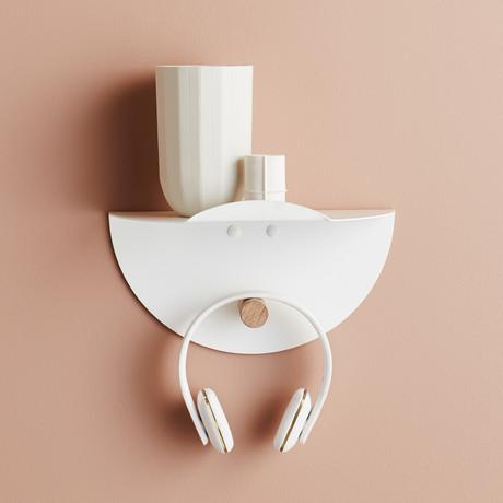 Tuck Shelf // White
