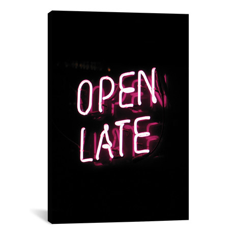 "Open Late // Honeymoon Hotel (12""W x 18""H x 0.75""D)"