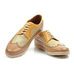 Erroll Shoe // Beige + Yellow (Euro: 38)