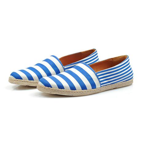 Ulysses Shoe // Blue + White (Euro: 40)