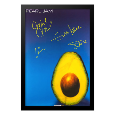 Pearl Jam // Signed Poster