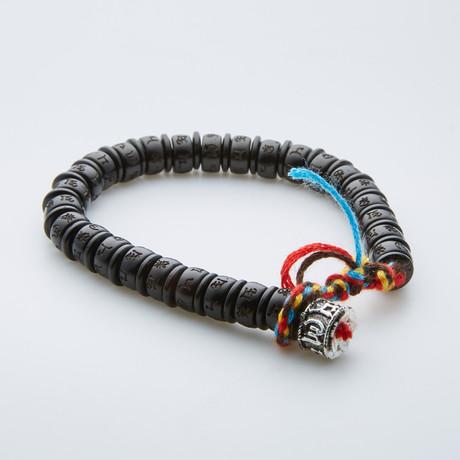 Jean Claude Jewelry // Buddha Charm Bracelet // Multicolor