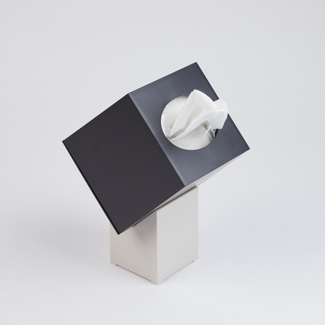 Zaforas Tissue Holder // Black