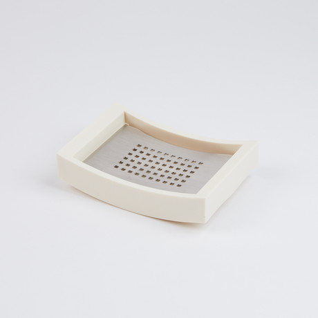 Sonoma Soap Dish // Ivory
