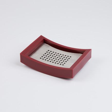 Sonoma Soap Dish // Red