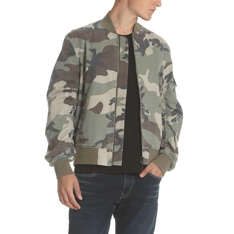 Bomber Jacket // Camo (S)