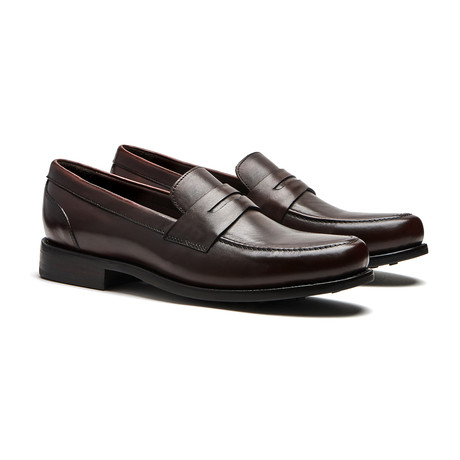 Brown Penny Loafer // Goodyear Welted Construction // Chocolate Brown (US: 7)