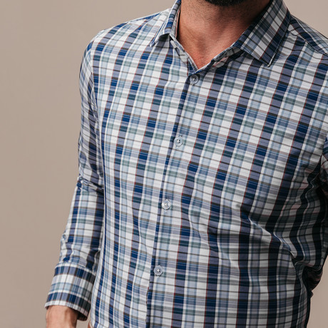 Fraser Woven Trim Fit Shirt (S)