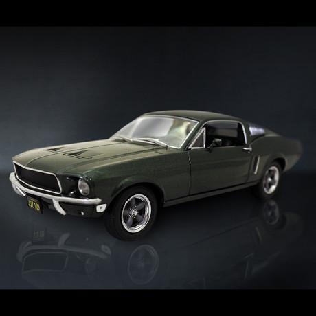 Bullitt // 1968 Ford Mustang 1:24 // Premium Display