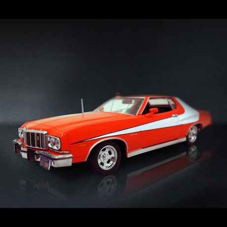 Starsky + Hutch // 1976 Ford Grand Torino 1:24 // Premium Display