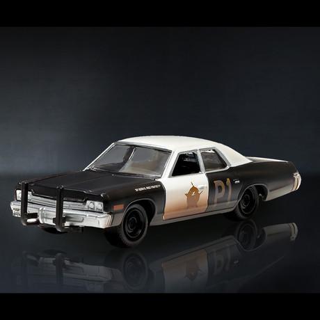 Blues Brothers // 1974 Dodge Monaco Chicago 1:24 // Premium Display