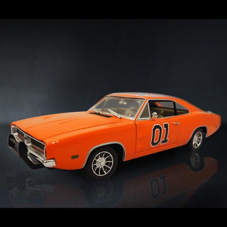 Dukes Of Hazard General Lee // 1969 Dodge Charger 1:18 // Premium Display