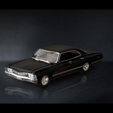 Supernatural // 1967 Chevy Impala 1:18 // Premium Display