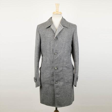 Belvest // Alpaca Blend Coat // Gray (Euro: 48)