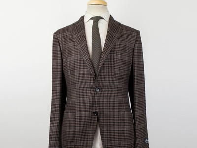 Photo of Belvest Refined Suits + Sportcoats Cashmere Unstructured 3 Roll 2 Sport Coat // Brown (Euro: 50R) by Touch Of Modern