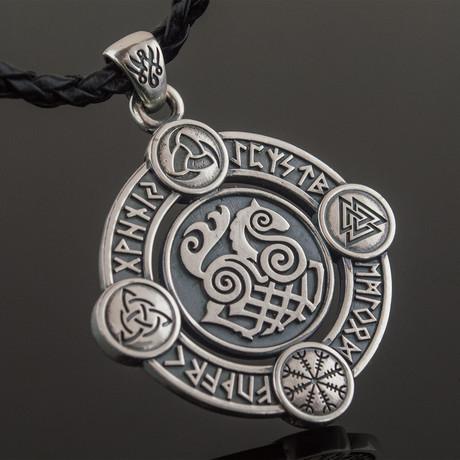 Sleipnir Pendant // Silver
