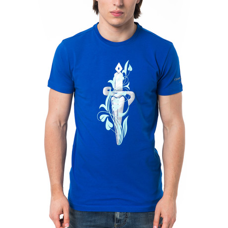 Blade T-Shirt // Royal (XS)