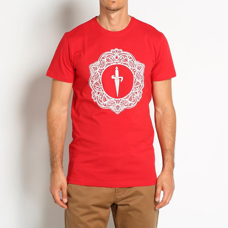 Ancora T-Shirt // Red (Euro: 46)