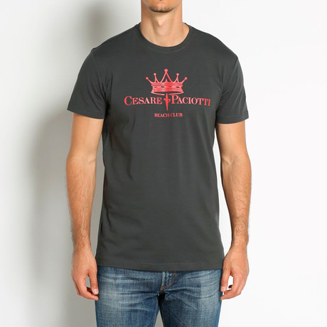 Crowned T-Shirt // Antracite (Euro: 46)