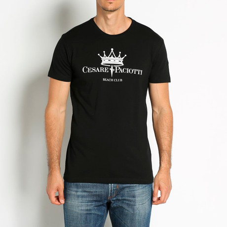 Crowned T-Shirt // Black (Euro: 46)