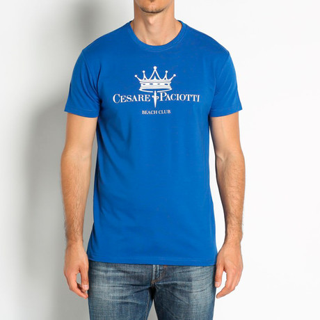 Crowned T-Shirt // Royal (Euro: 46)