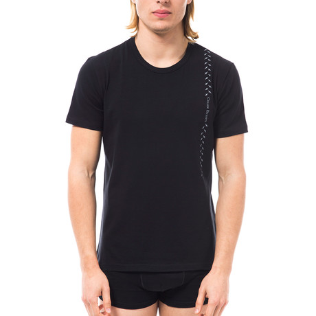 Cross T-Shirt // Black (XS)