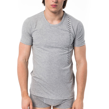 Cross T-Shirt // Gray (XS)