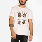 Beetles T-Shirt // White (Small)