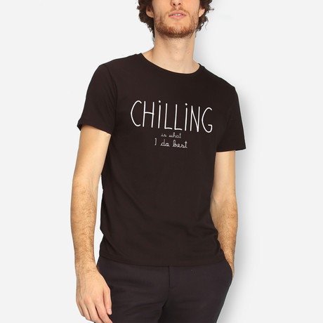 Chilling Is What I Do Best // Black (S)