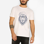 Cool Lion T-Shirt // White (XL)