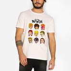 David Bowie T-Shirt // White (S)