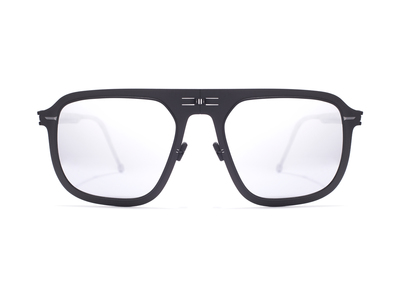 Photo of ROAV Super-Thin Folding Sunglasses Virgil // Black + Silver by Touch Of Modern