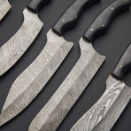 Kitchen Knife Set // Set of 6
