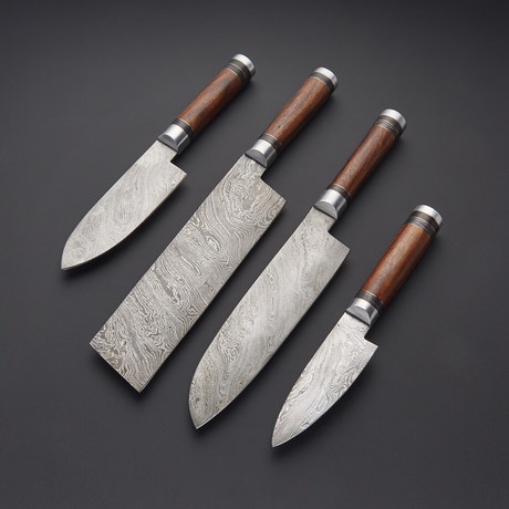 Kitchen Knife Set // Set of 4 // 1268
